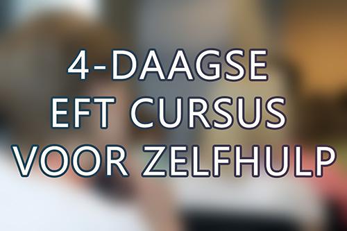 Vierdaagse EFT cursus voor zelfhulp